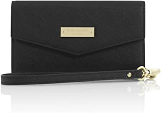 Kate Spade New York Elegant Luxury Saffiano Leather Wristlet for iPhone and Universal Smartphones up to 5.7