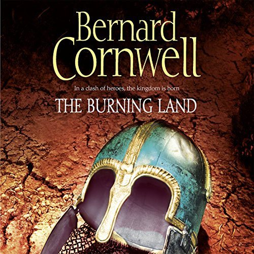 The Burning Land audiobook cover art
