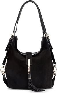 black suede handbags