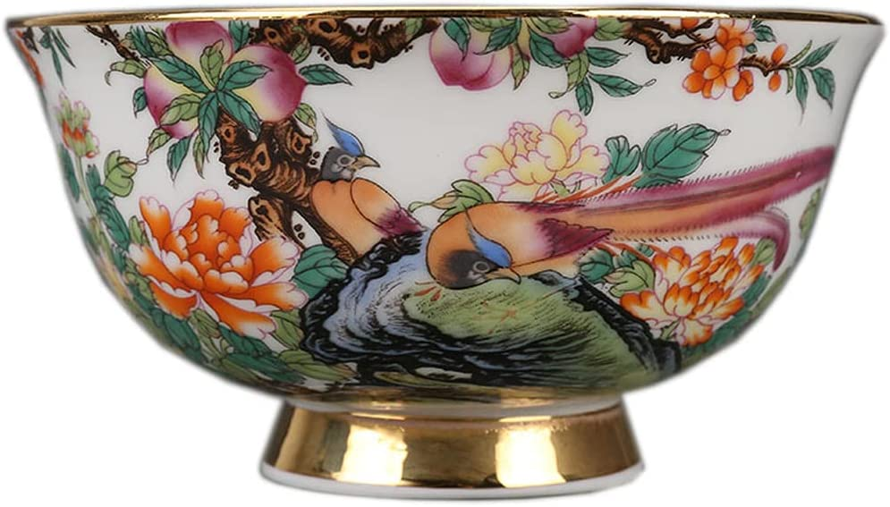 Chinese Traditions Antique Hand Painted Porcelain Same day shipping Limited time for free shipping Soup Bowl Home