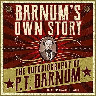 Barnum's Own Story audiobook cover art