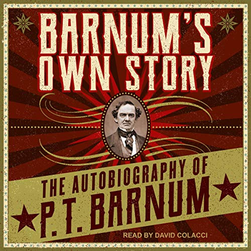 Barnum's Own Story audiobook cover art
