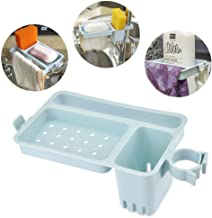 JRM's Hanging Bathroom Kitchen Utensil Box Soap Organizer Faucet Drain Storage Rack Shelf Towel Soap Dish Holder Tray
