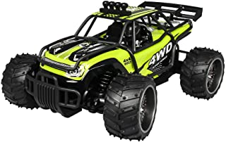Fine RC Cars 1:16 25km/h 2.4G RC Car 4WD Double Battery High Power Racing Truck, All Terrain Off-Road RC Trucks,High Speed Racing Car for Kids