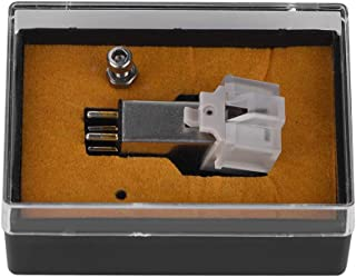 fosa Magnetic Cartridge Stylus with LP Vinyl Needle Accurate Record Function Phonograph Cartridge for Turntable Record Player