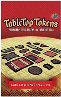 Tabletop Tokens: Castle Furnishings Set