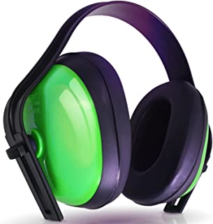 Hearing Protection Ear Muffs (SUPER COMFORTABLE EAR PROTECTION) Reduce Sound by 21DB - Over The Ear - Compact Foldable Design - Perfect for Firearm Shooting, Hunting, Construction, and More!