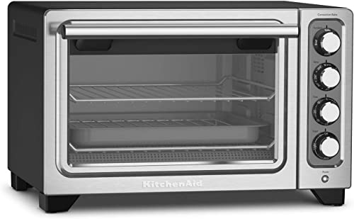 high quality KitchenAid KCO253BM 12-Inch popular Compact Convection Countertop Oven - Black popular Matte (Renewed) online sale