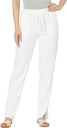 Hayden Lounge Jersey Track Pants with Slits