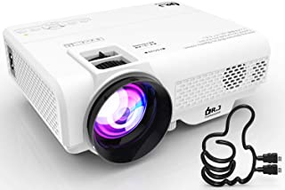 DR. J Professional 4500L Mini Projector Full HD 1080P Supported Portable Video Projector,..
