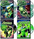 Green Lantern DC Animated Series 5-Disc Collection - Manhunter Menace - Season 1 - Part 2/ Rise of Red Lanterns/ First Flight/ The Best of Green Lantern