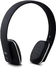 August EP636 Bluetooth Headphones - Wireless On-ear Headphones with NFC / Headset Microphone - Black