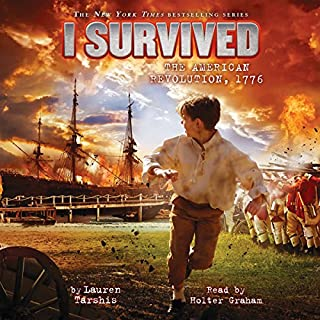I Survived the American Revolution, 1776 audiobook cover art
