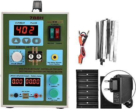 Soldadora por puntos de batería, Prueba de carga de doble uso 16 Soldadora por puntos