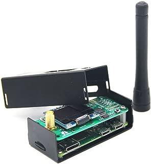 Hima MMDVM Hotspot Spot Radio Station+ Antenna+OLED Display+ Black Case + Raspberry Pi-Zero W Support P25 DMR YSF D-Star UHF Expansion Board WiFi Digital Voice Modem