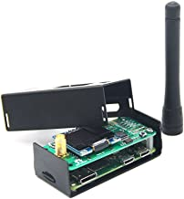 Hima MMDVM Hotspot Spot Radio Station+ Antenna+OLED Display+ Black Case + Raspberry Pi-Zero W Support P25 DMR YSF D-Star UHF Expansion Board WiFi Digital Voice Modem