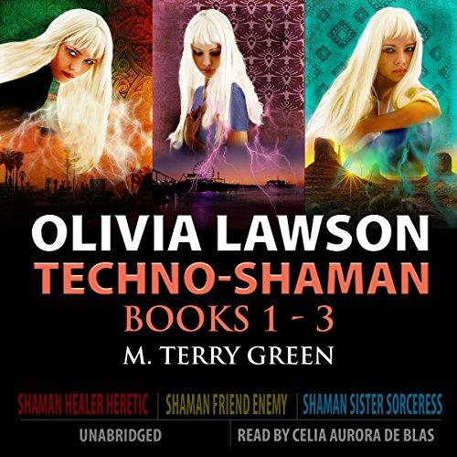 Olivia Lawson Techno-Shaman Series cover art