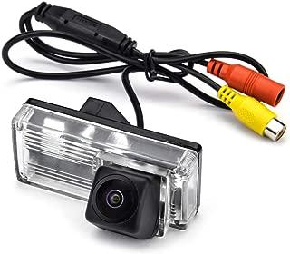 aSATAH Fisheye Lens Car Rear View Camera for Toyota Reiz/Mark X MarkX/Prius/Toyota Land Cruiser LC100 LC120 LC200 Prado & Waterproof and Shockproof Reversing Backup Camera (Fisheye Lens)
