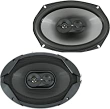 "$45 » JBL GT796E 6""X9"" 300W 3-Way High Dynamic Range Tweeters Coaxial Car Speakers"