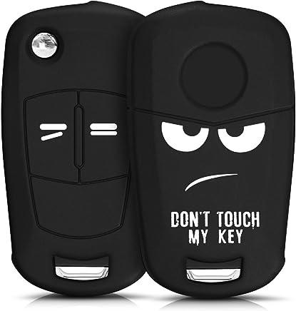 kwmobile Funda para Llave Plegable de 2 Botones para Coche Opel Vauxhall - Carcasa Protectora [