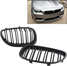HCDSWSN Parrilla Delantera Parrilla Negra Mate, para BMW Serie 5 M5 E60 E61 520i 530i 2004 2005 2006 2007 2008 2009