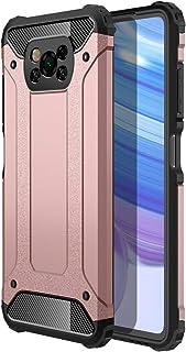 FanTings Funda para Xiaomi Poco X3 NFC,2in1 Armadura Combinación A Prueba de Choques Heavy Duty Escudo Cáscara Dura,Compat...