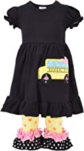 back to school smocked outfit