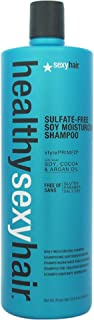 Sexy Hair Healthy Sexy Hair Sulfate-Free Soy Moisturizing Shampoo for Unisex 33.8 oz Shampoo