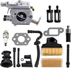 Dxent MS250 Carburetor w Air Filter Tune-up Kit for STIHL MS230 MS210 021 023 025 Gas Chainsaw Fuel Line Filter