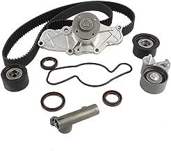 DNJ TBK455WP Timing Belt Kit with Water Pump for 1993-2002 / Ford, Mazda / 626, Millenia, MX-3, MX-6, Probe / 1.8L, 2.5L / DOHC / V6 / 24V / 152cid, 1845cc, 2497cc