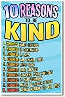 10Reasons to Be Kind–新しい教室Motivational Poster