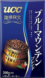 UCC 珈琲探究 ブルーマウンテンブレンド コーヒー豆 (粉) 200g
