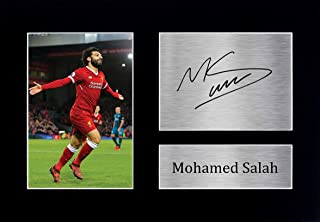 HWC Trading Mohamed Mo Salah Gifts Signed A4 Printed