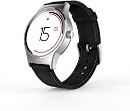 TCL Movetime Smartwatch (Silver Case, Black Strap)