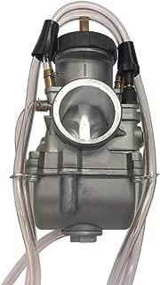 Qauick PWK38 38mm 38 mm PWK Carburetor Carb For Keihin Flat Slide Air Striker Carburetor KTM 250 250SX 250EXC Dirt Bike Honda ATV TRX250R CR250 ATC250R SUZUKI LT250