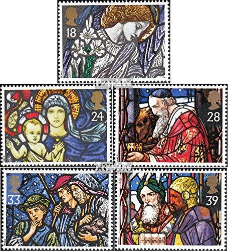 Prophila Collection Großbritannien 1421-1425 (kompl.Ausg.) 1992 Weihnachten: Kirchenfenster (Briefmarken für Sammler) Weihnachten