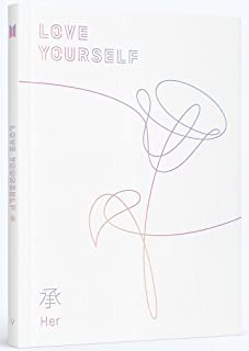 BTS - Love Yourself 承 [Her] [V ver.] with Photobook, Photocard, Official Folded Poster(V ver.), Extra photocard