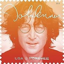 John Lennon Commemorative Forever Postage Stamps by USPS Imagine(2 Sheets of 16)