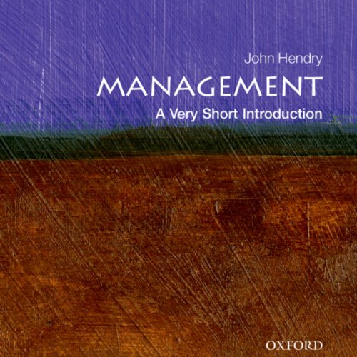 Management: A Very Short Introduction audiobook cover art