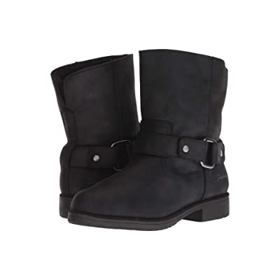 SKECHERS Medium Moto Boot (Black) Women
