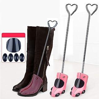 قطعة واحدة أحذية تمديد أحذية شجرة وردية حامل حامل حامل حامل الساق الساق المشكل دعم القابل للتعديل دعم موسع الحذاء