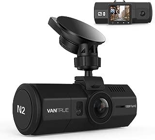 Vantrue N2 Uber Dual Dash Cam-1080P Inside and Outside Dash Camera for Cars 1.5