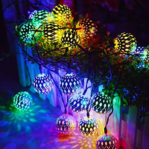 marokkanische Weihnachtsbeleuchtung,40 LED Fensterlicht Saugnapf ,Kabelbeleuchtung,6M Fensterlichter,lichtervorhang fenster led,Lichterkette,Lichtervorhang Lichter Weihnachtsbeleuchtung(Farbe)