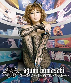 ayumi hamasaki Rock'n'Roll Circus Tour FINAL ~7days Special~ [Blu-ray]