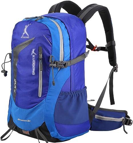 BAIJJ Sacs à Dos de randonnée 38L Sports de Plein air Voyage Sac à Dos Camping sacages Sac à Dos 30  20  50cm Trois Couleurs.