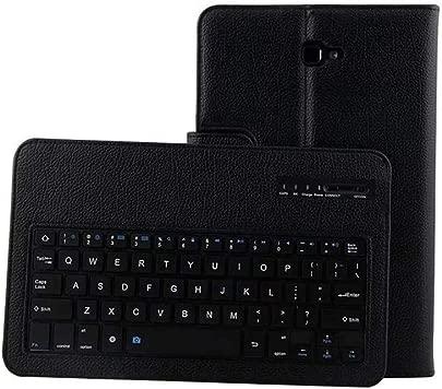 Schutzh lle f r Samsung Galaxy Tab T580  Amuse-MIUMIU PU Leder Case Stander Cover Auto Sleep Wake Funktion mit Wireless Keyboard Eingeben Tastatur f r Samsung Galaxy Tab T580 10 1 Zoll