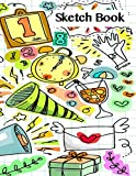 Sketchbook: Kids Paint Drawing and Writing Blank Page Sketch book Journal for Personalized