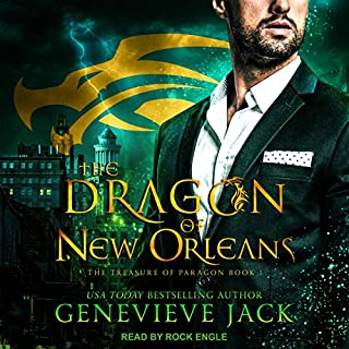 The Dragon of New Orleans audiobook cover art