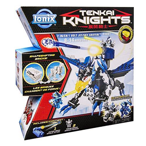 Ionix Tenkai Knights - 6018999 - Jeu De Construction - Coffret 2 en 1 - Jet/Griffon