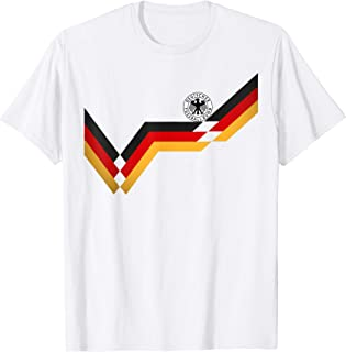 Germany Soccer Jersey Vintage German 1990 Retro Football Top T-Shirt